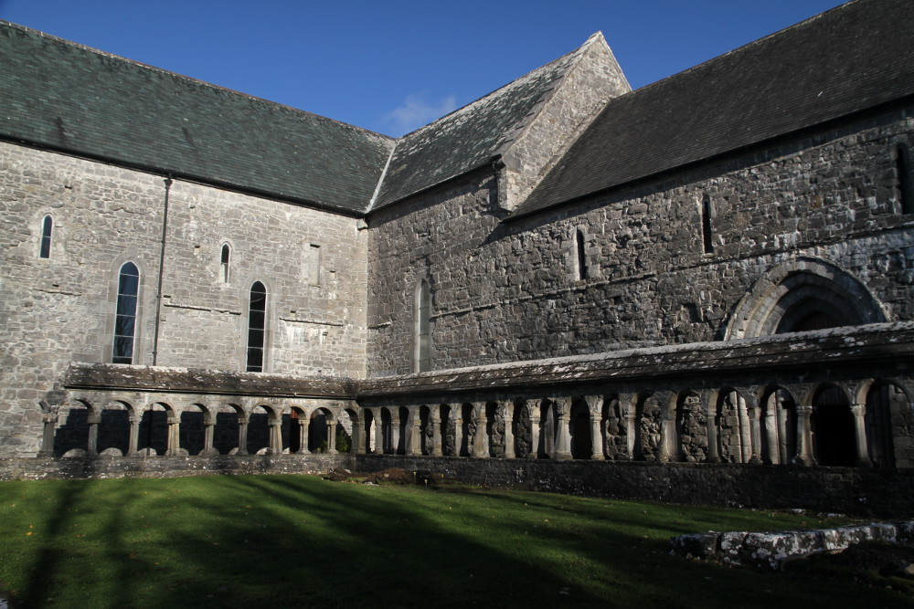 Ballintubber Abbey County Mayo In Continuous Use For