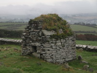 Cooley Cross and Skull House