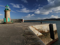 West Pier Lighthouse, Dun Laoghaire, County Dublin