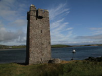 Pirate Queen Castle, Achill Island, County Mayo